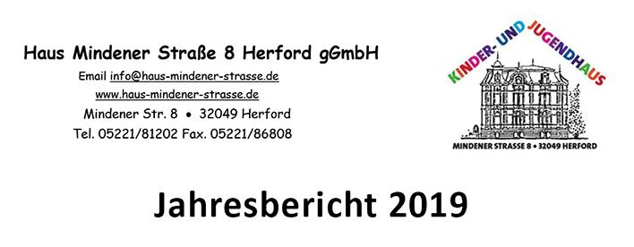 Jahresbericht Haus Mindener Straße Herford