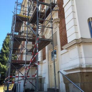 Renovierung Villa Haus Mindener Straße Herford